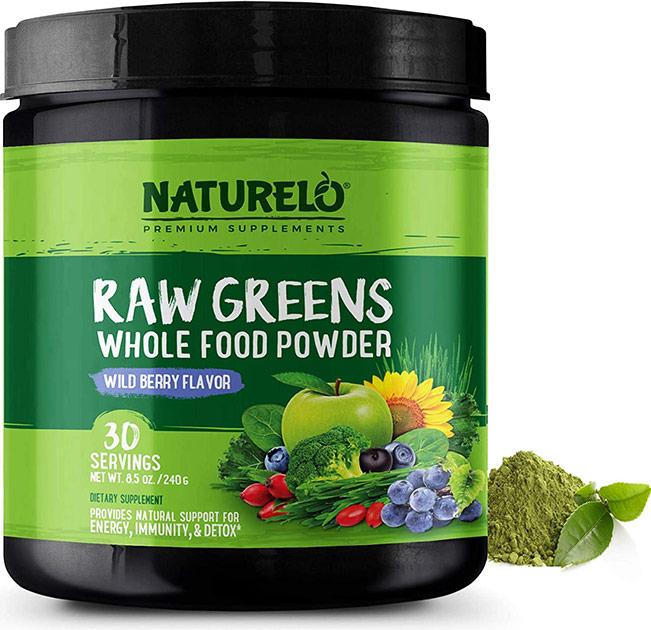 naturelo raw greens