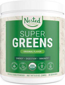 Nested Supergreens