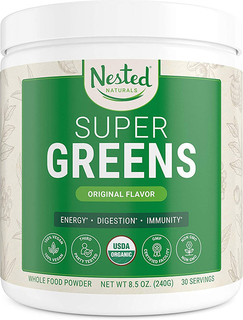 Nestedd super greens