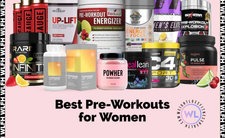 Best Pre Workouts for Women WLFH featured image