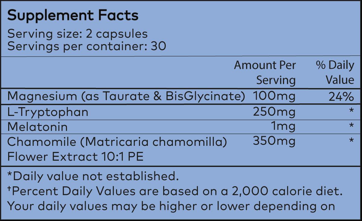 Powher-Down-Sleep-Ingredients
