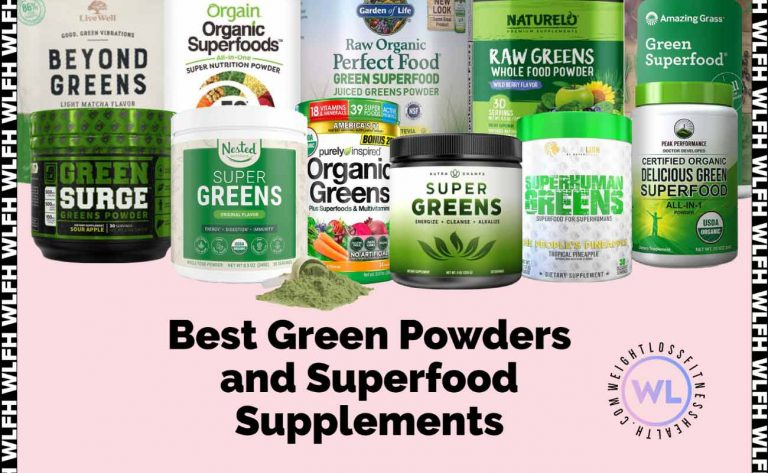 Best Green Powders and Superfood Supplements WLFH featured image