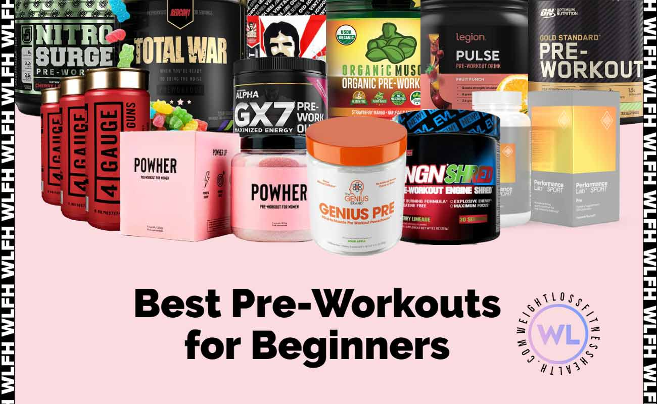 Best Pre-Workouts for Beginners WLFH featured image