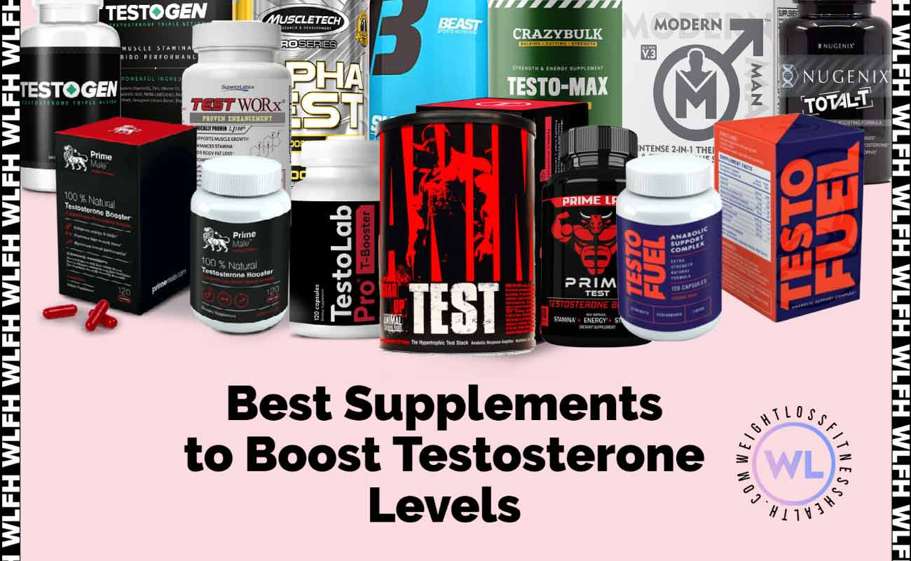 Best Supplements to Boost Testosterone Levels WLFH featured image