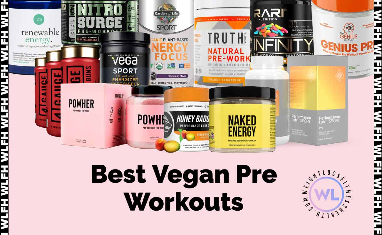 Best Vegan Pre Workouts WLFH featured image