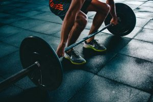 A-person-about-to-deadlift