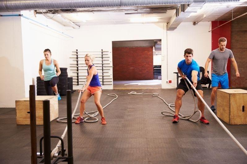 People circuit training