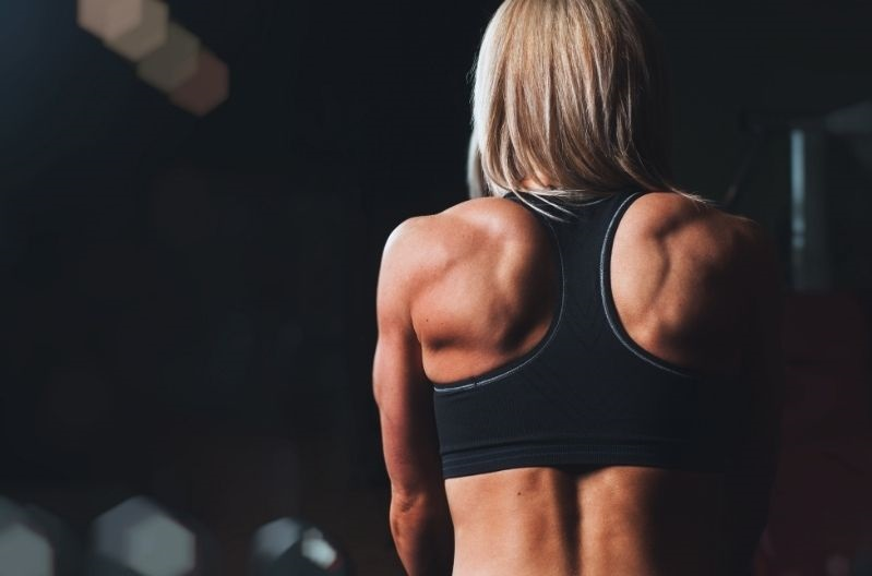 strong back woman
